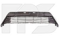 Решетка переднего бампера Toyota Auris E18 (12-15) черная (FPS)