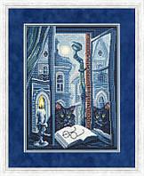 Набір для вишивки хрестом Золоте Руно СН-003 «Кіт вчений»
