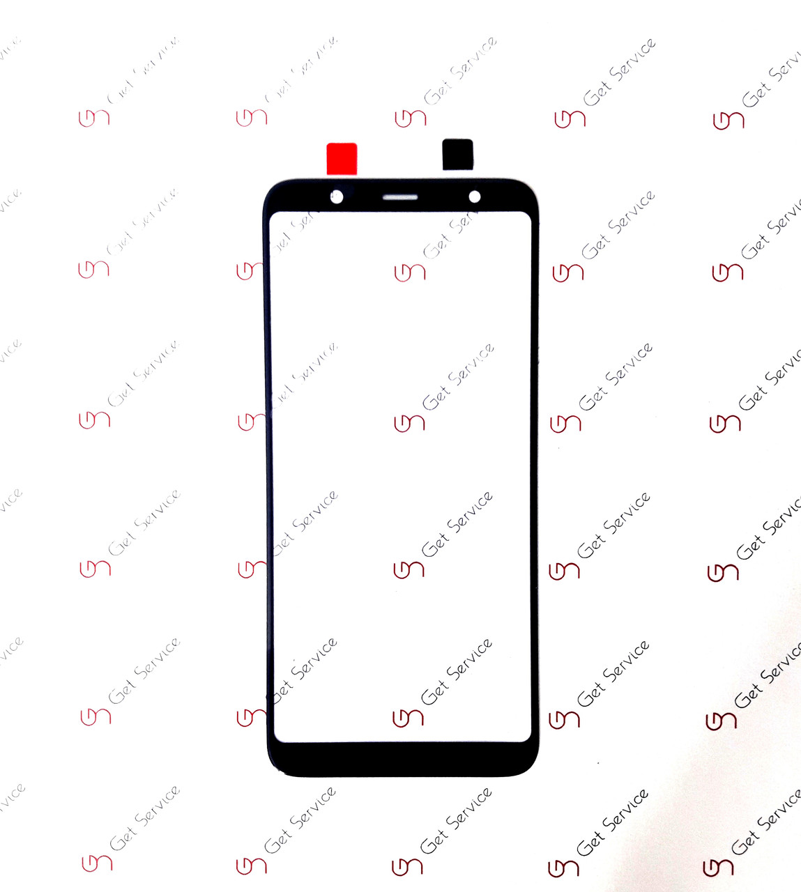Стекло корпуса для Samsung Galaxy A6+ 2018 Black
