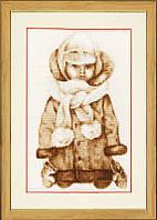 Набор для вышивки крестом Золотое Руно СВ-029 «Филиппок»