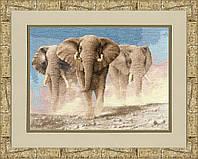 Набір для вишивки хрестом Золоте Руно ЖС-008 «Серце Африки по мот.карт.Венінга Я.»