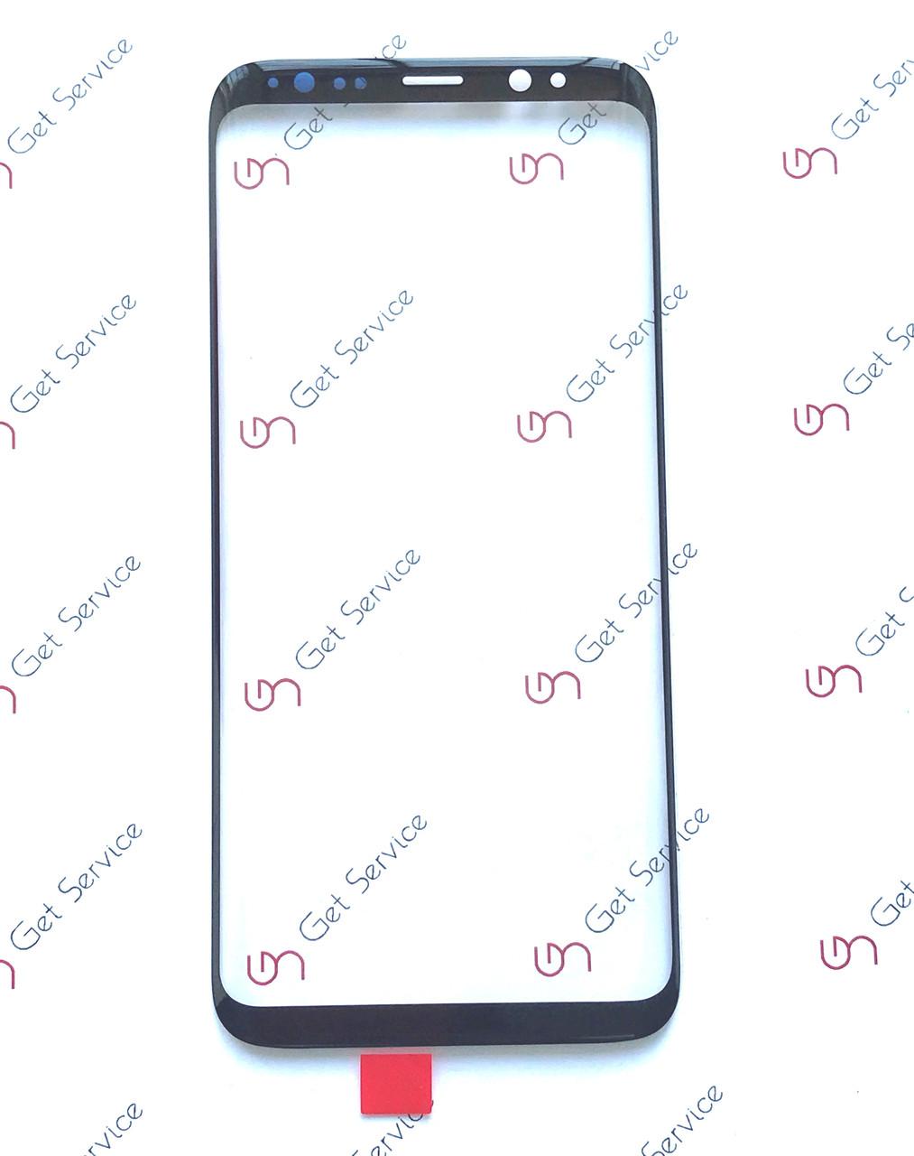 Стекло корпуса для Samsung Galaxy S8 G950 Черное/Black