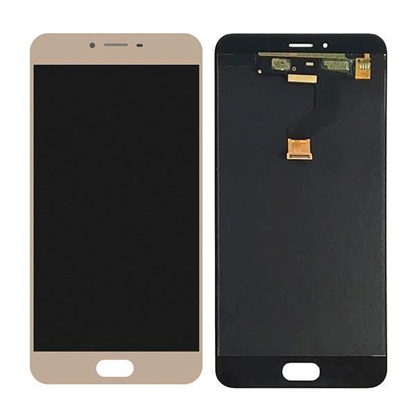 Дисплейный модуль Meizu M3x Золотой/Gold
