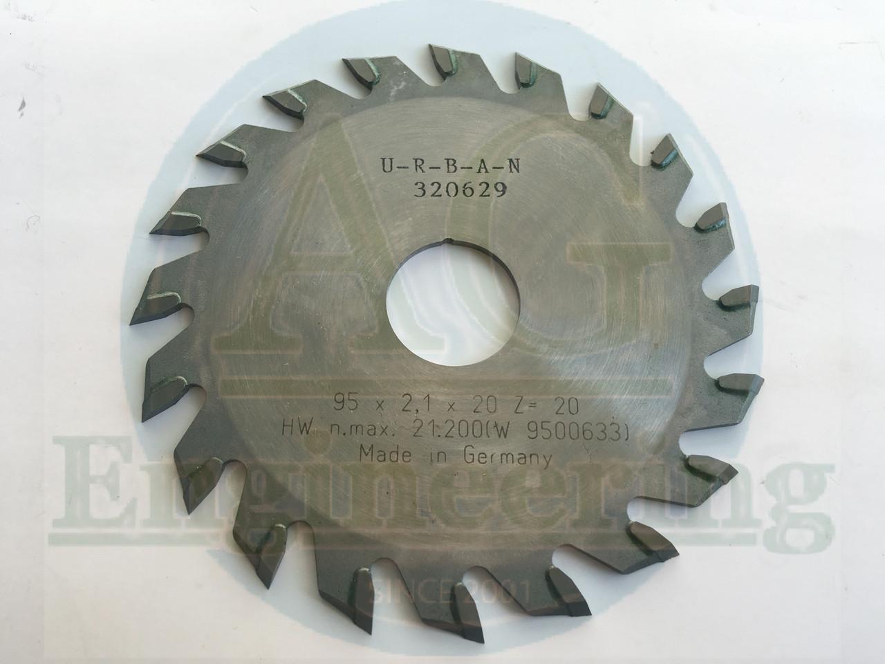 Пильный диск URBAN 95x2,1x20 Z=20 (320629)