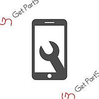 Стекло корпуса для Samsung Galaxy Note 2 Черное/Black-Grey