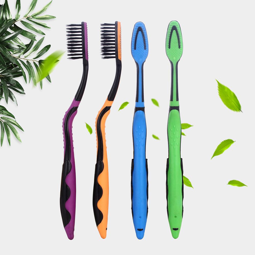 Набор Nano антибактериальных зубных щеток Azdent, 4 штуки