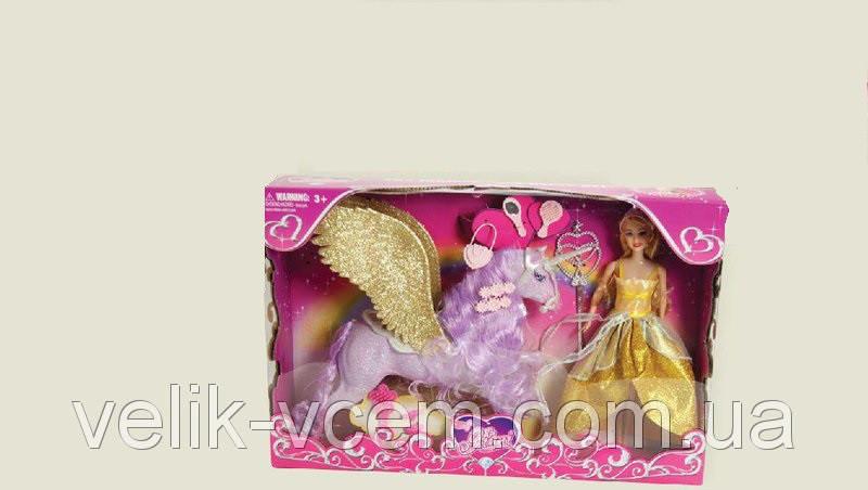 Кукла типа Барби Jinni с единорогом-пегасом 83147