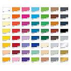 Дизайнерська кольорова (двостороння) папір Folia 50 х 70 см, молочна, фото 2