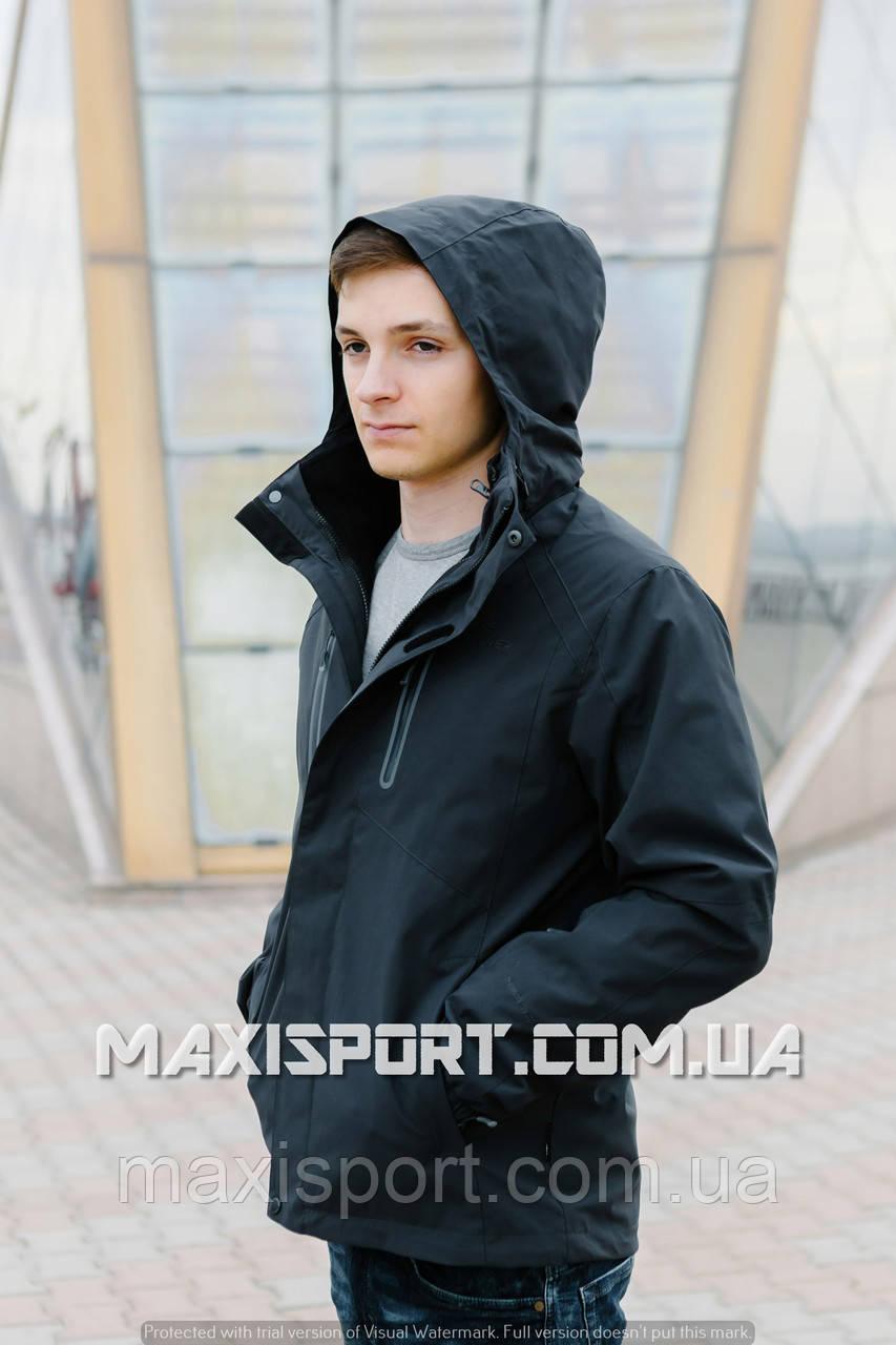Куртка мужская 3 в 1 Freever (7507) 3XL, Black