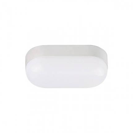 Светодиодный светильник для ЖКХ YILDIZ-15 15W накладной 4200K овал IP65 Код.59344, фото 2