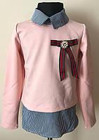 Кофта обманка для девочки, фото 1