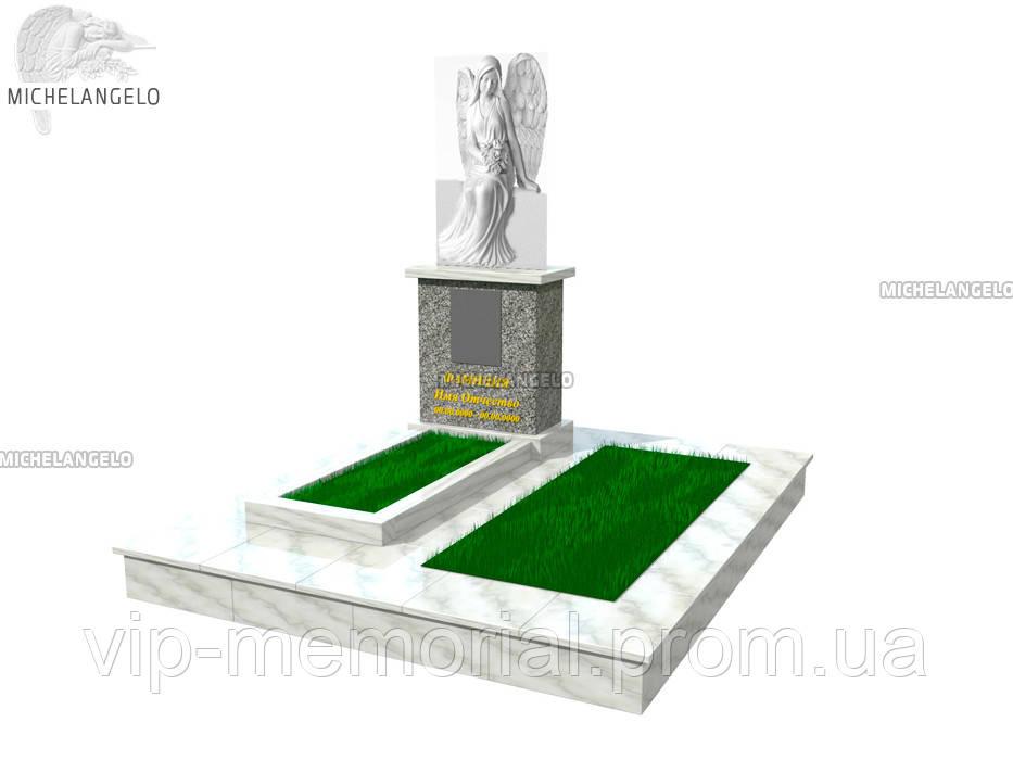 Мраморный памятник М-551