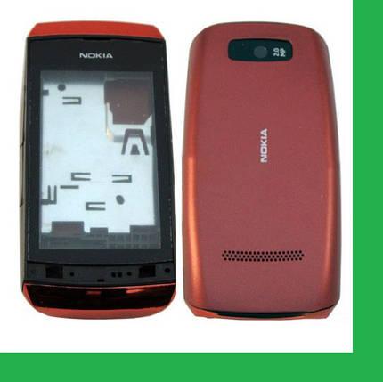 Nokia 305 Корпус красный, фото 2
