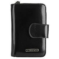 Женский кожаный кошелек Lorenti 76115-NIC Black, фото 1