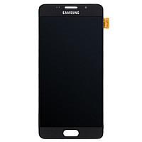 Дисплей модуль Samsung A510 Galaxy A5 (2016) в зборі з тачскріном, чорний