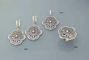 Кольцо из серебра с цирконием., фото 3