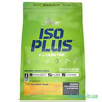Энергетик Olimp Iso Plus + L-Carnitine (1,5 кг) tropic blue