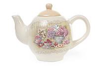 Чайник керамический 1050мл Гортензия BonaDi 844-710