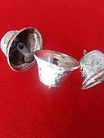 Дзвіночок дзвіночок 35 мм срібло, фото 1