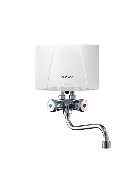 Электрический проточный водонагреватель Clage M3/SMB
