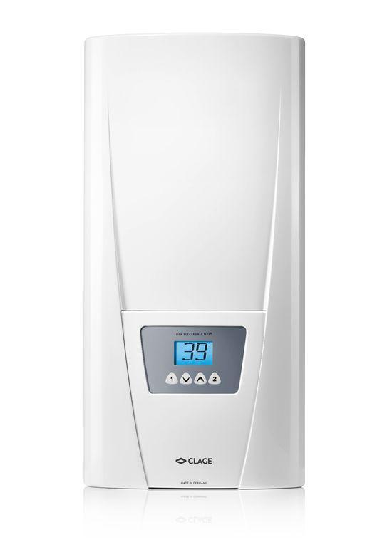 Электрический проточный водонагреватель Clage DEX