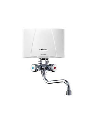 Электрический проточный водонагреватель Clage M4/SMB, фото 2