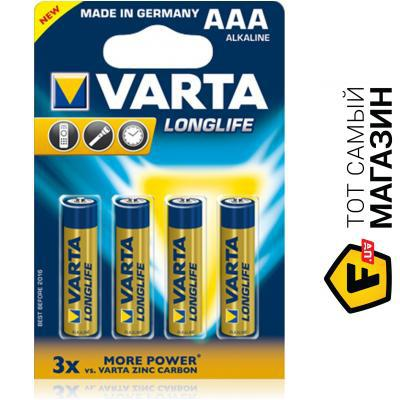 "Батарейка щелочная ""Varta Long Life"" LR03"
