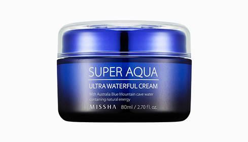 Крем суперувлажняющий MISSHA Super Aqua Ultra Water-Full Cream, 80 мл, фото 2