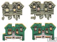 Клемма винтовая Conta-Clip RK 2,5-4 ZRL Ном.сеч.4 мм², Iном.=24 A, синий, cc1211.5