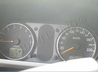 Кольца на приборы тюнинг Ford Fusion