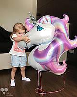 Волшебный единорог, фиолетовая голова