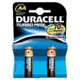 Батарейка Duracell Turbo Max AA (LR6) 2шт Alkaline 81367857