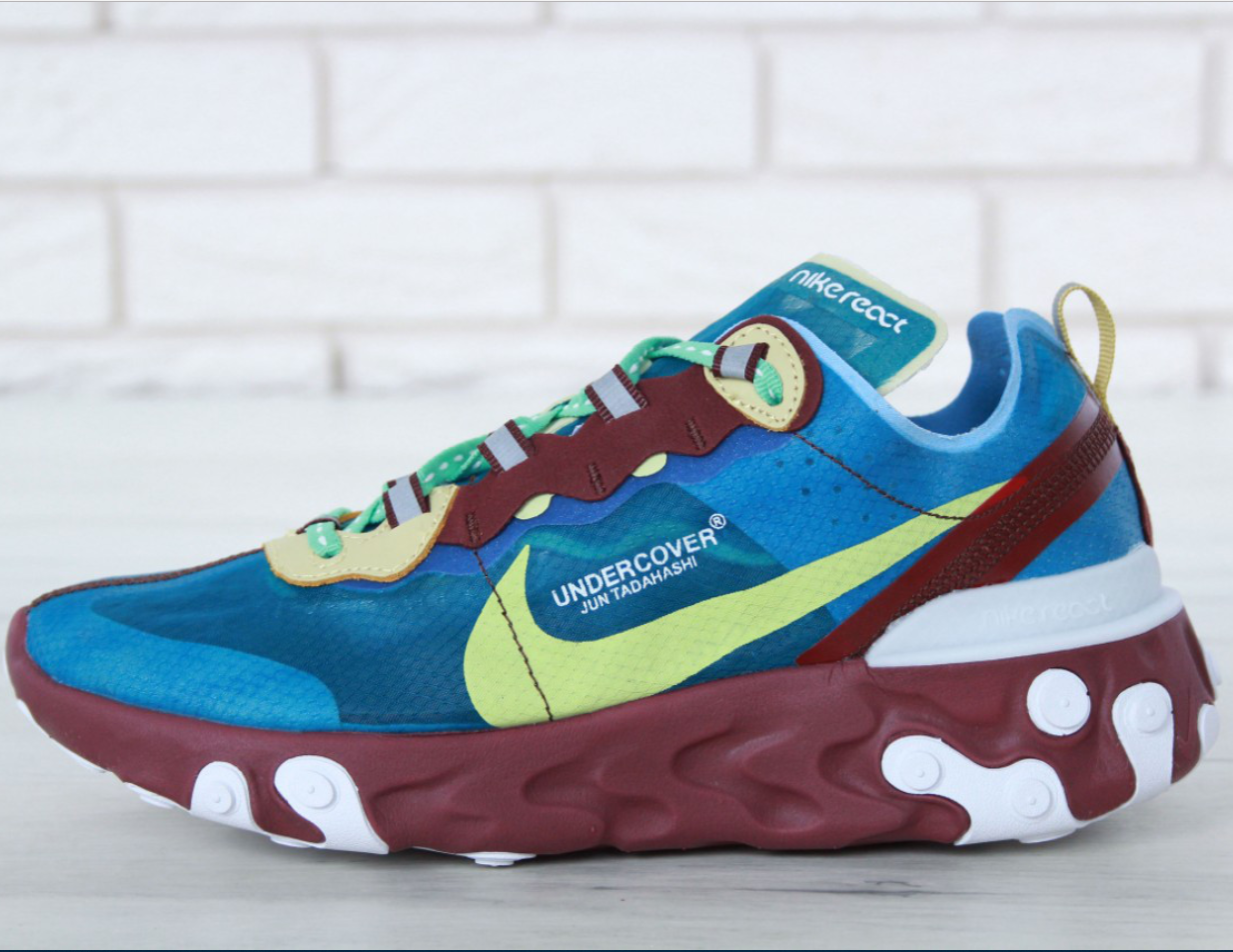 2d0aed2756e9 Кроссовки Мужские Undercover x Nike React Element 87