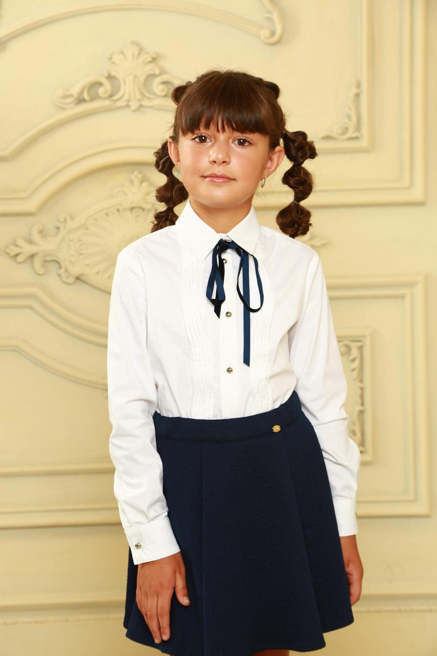 Блуза для школы практичная