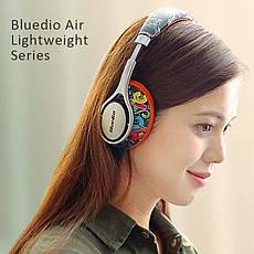 Беспроводные наушники (гарнитура) Bluedio A2 Air White-Blue, фото 3