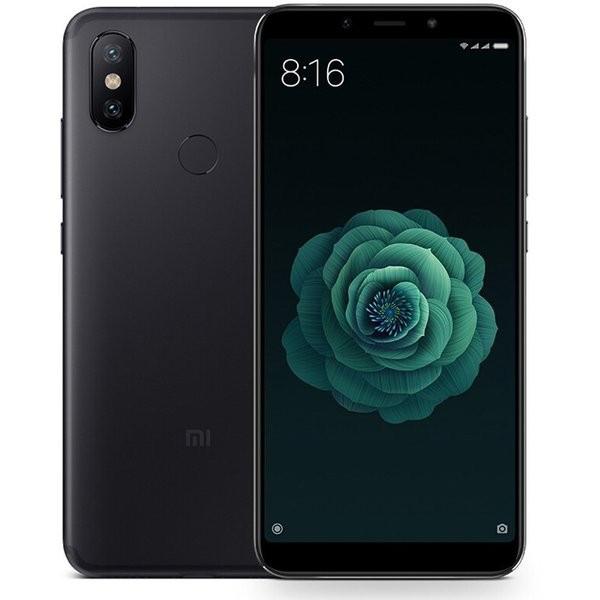 Смартфон Xiaomi Mi A2 Black 4/32gb Snapdragon 660 3000 мАч