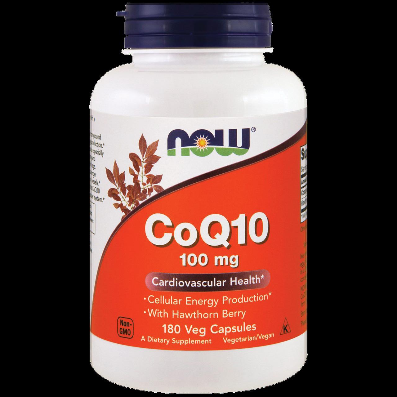 NOW_CoQ10 100 мг - 50 софт кап