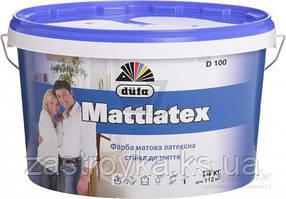 Краска Dufa Mattlatex D100 белый 14 кг