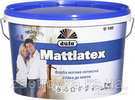 Краска Dufa Mattlatex D100 белый 7 кг