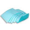 Непромокаемые салфетки на рабочий стол мастера маникюра, 50 шт, 45х32см, голубые