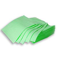 Стоматологические салфетки нагрудники непромокаемые, 500 шт, 45х32см, лаймовые