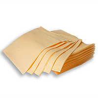 Стоматологические салфетки нагрудники 50 шт 3-х слойная 45х32см персиковые
