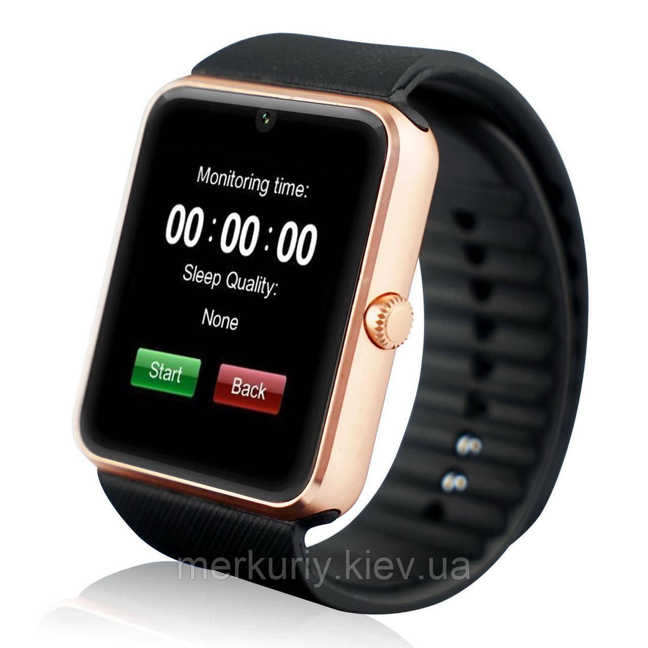Годинник смарт Smart Watch gt08 Gold розумні