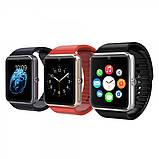Годинник смарт Smart Watch gt08 Gold розумні, фото 4