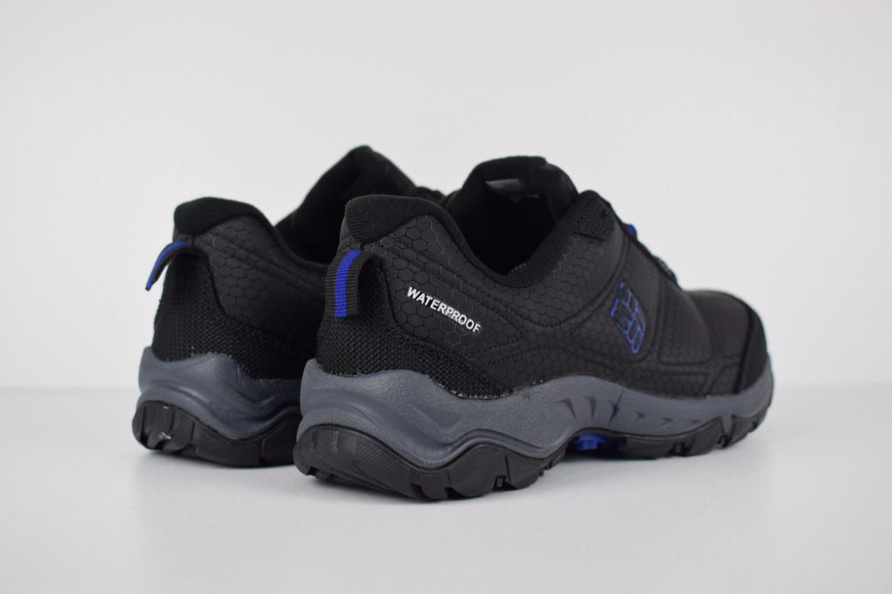 Зимние мужские ботинки Columbia Firecamp черные с синим 3145 ... 050cc5be289b7