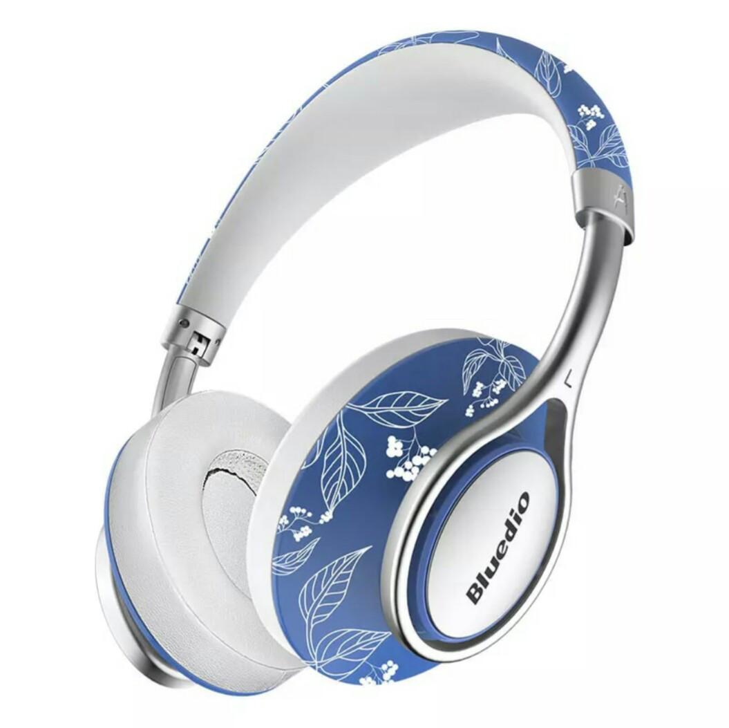 Беспроводные наушники (гарнитура) Bluedio A2 Air White-Blue