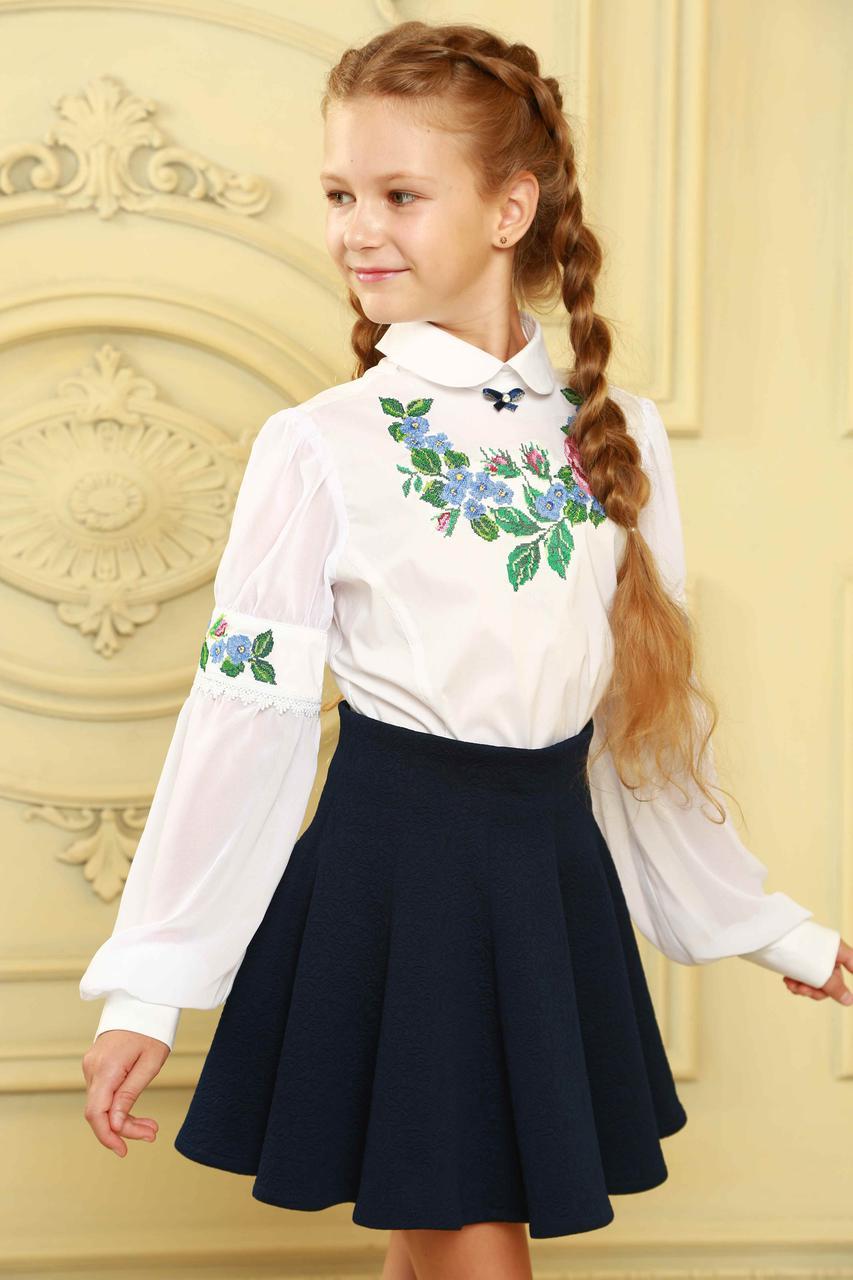 Модная юбка для школьницы