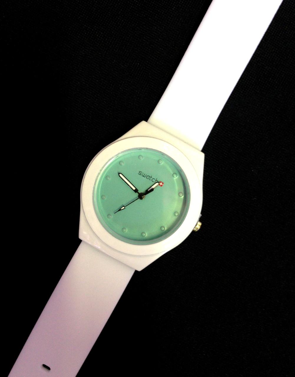 Женские часы SWATCH, кварцевые белые