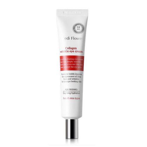 Антивозрастной крем для кожи вокруг глаз с коллагеном Medi Flower Collagen Wrinkle Eye Cream,40мл