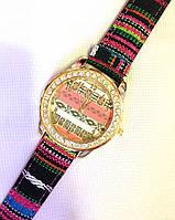 Женские часы, кварцевые цветные
